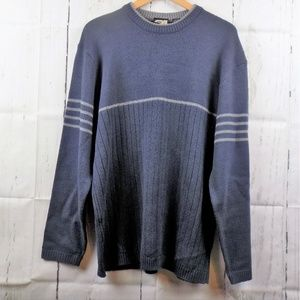 Rue 21 Guys Blue & Gray Sweater Size Large
